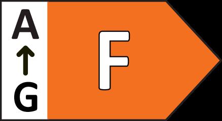 Energieeffizienzklasse F