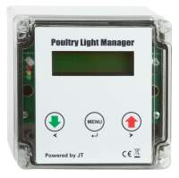 Poultry Light Manager (JT-PLM) und 12V DC dimmbare LED Lampe 12 W